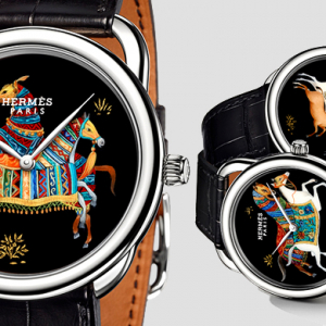 Hermès launches Arceau Cheval d'Orient watches