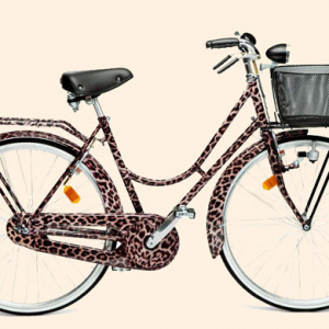 Dolce & Gabbana release limited edition 'Animalier' bicycle in Amsterdam