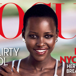 Lupita Nyong'o lands her first Vogue cover