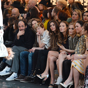 How much is a front row seat at a Fendi or Prada show?