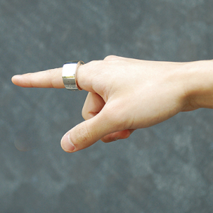 The new smart ring that lets you control electronic devices