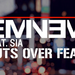 Eminem and Sia release their new track 'Guts Over Fear'