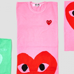 Dover Street Market and Comme des Garçons Play 10th anniversary collection