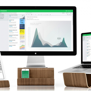 Organise your desk with Evernote's new laptop stands