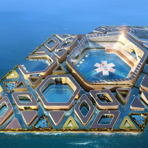 China's plans for a luxury floating city have begun