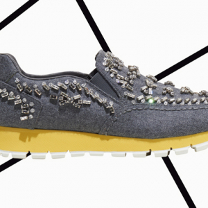 Prada debut coveted new crystallised trainers