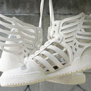 Buro loves: Jeremy Scott x Adidas Originals wings 2.0 'Cut Outs'