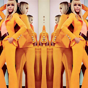 Natasha Poly fronts the new Pucci campaign for Spring/Summer 15