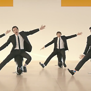 Watch now: Ok Go's music video filmed by camera drone in Japan
