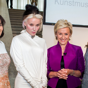 Art Basel dinner hosted by Tina Brown, Daphne Guinness and Dasha Zhukova