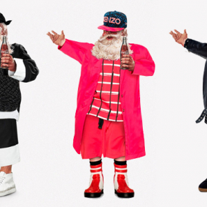 Santa receives a high fashion makeover by a London design studio