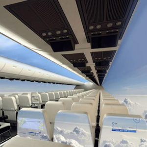 The windowless fuselage aeroplane that could change travel forever
