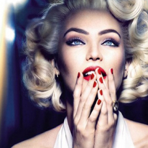 Candice Swanepoel transforms into Marilyn Monroe for Max Factor commercial