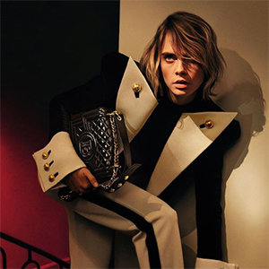 Cara Delevingne turns accessory designer for Balmain