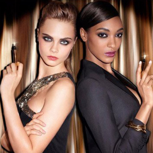Cara Delevingne and Jourdan Dunn star in the new YSL Touche Eclat campaign