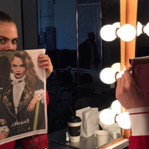 First look: Cara Delevingne teases new Chanel campaign on Instagram
