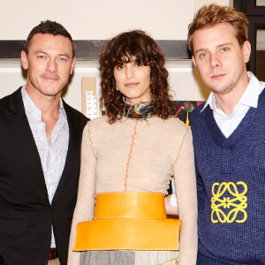Inside the opening event for Casa Loewe in Madrid