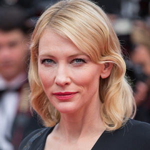 """There is a solution\"" — Cate Blanchett, UN Goodwill Ambassador"