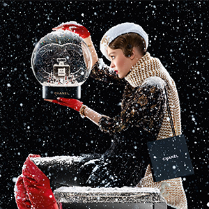 Chanel is bringing the holiday cheer with its latest campaign