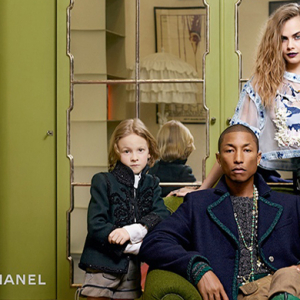 Pharrell Williams and Cara Delevingne reunite for Chanel Paris-Salzburg Pre-Fall 15 campaign