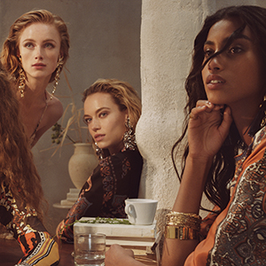 Imaan Hammam makes her official debut as a Chloé girl