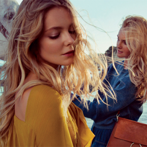 Chloé debut new romantic seaside campaign for Spring/Summer 15