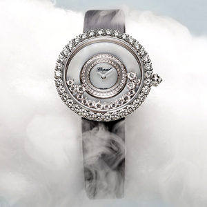Chopard presents Happy Diamonds, a 40th anniversary timepiece