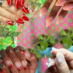 A sliding scale of Christmas manicures to appease everyone