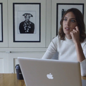 Take a look as Alexa Chung previews new docu-series for Vogue