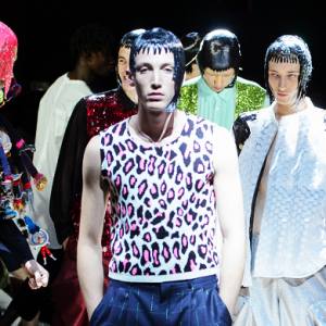 Men's Paris Fashion Week: Comme des Garcons Spring/Summer '18