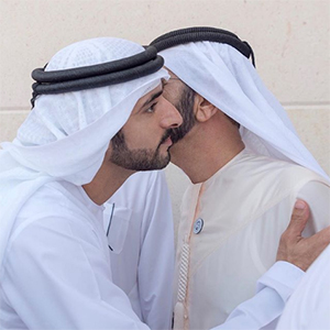 The Crown Prince of Dubai and his brothers are celebrating their wedding sooner than we think