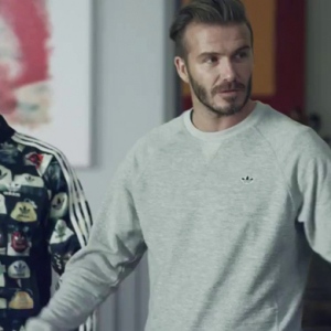 David Beckham stars in new Adidas commercial