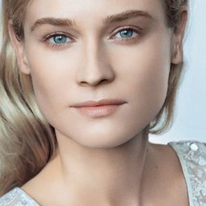 Diane Kruger poses for Chanel's new Hydra Beauty Micro Serum campaign