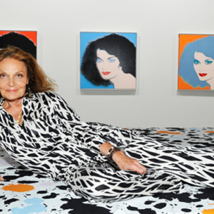 Diane Von Furstenberg's 'Journey of A Dress' exhibition celebrating 40 years of the iconic wrap dress