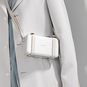 Kim Jones' latest Dior collection included a monogrammed collaboration with Rimowa