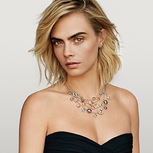 Cara Delevingne is the new face of Dior's Joaillerie collection
