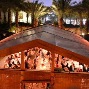 Dolce & Gabbana host moonlit dinner in Dubai