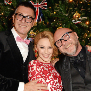 Dolce & Gabbana's Claridge's Christmas tree party in London