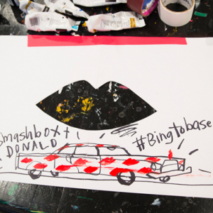 Donald Drawbertson and Smashbox launch a travelling art project for Miami Basel