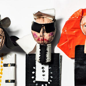 Donald Drawbertson debuts new 'Fashion is Nuts' project starring Anna Wintour, Coco Chanel, Karl Lagerfeld and more
