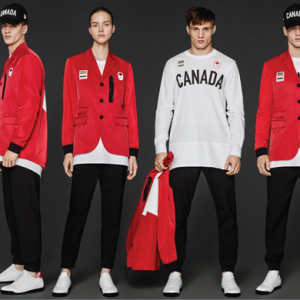 Dream team: Team Canada's Dsquared2 Rio uniform