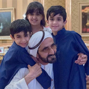 Dubai's royal family has welcomed another new member