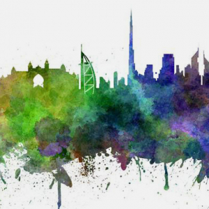 Sheikh Hamdan launches the world's longest graffiti scroll art project for National Day