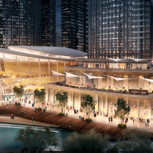 The Dubai Opera House is revealed