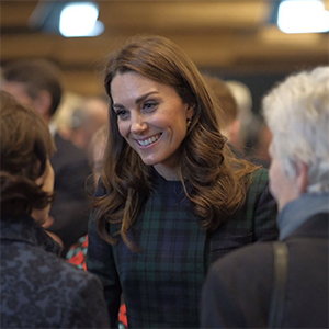 The Duchess of Cambridge opened the V&A Dundee in an outfit we're familiar with