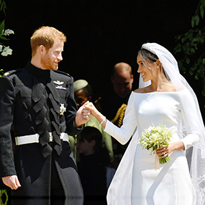 Happy anniversary to the Duke and Duchess of Sussex!