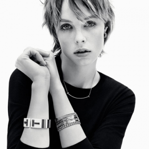 Watch now: Edie Campbell shows a new side to Tiffany & Co