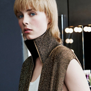 Edie Campbell stars in H&M's new campaign for AW15