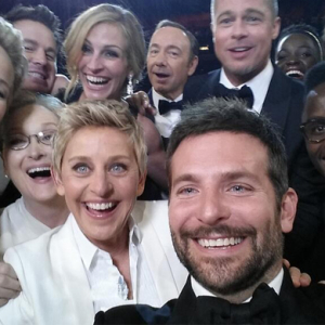 Ellen's star-studded Oscars selfie breaks twitter record in 35 minutes