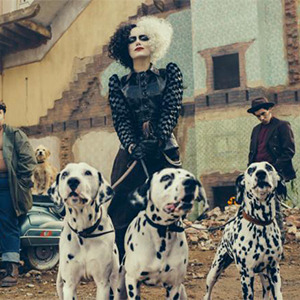 Emma Stone looks unrecognisable (and fierce) as Cruella De Vil